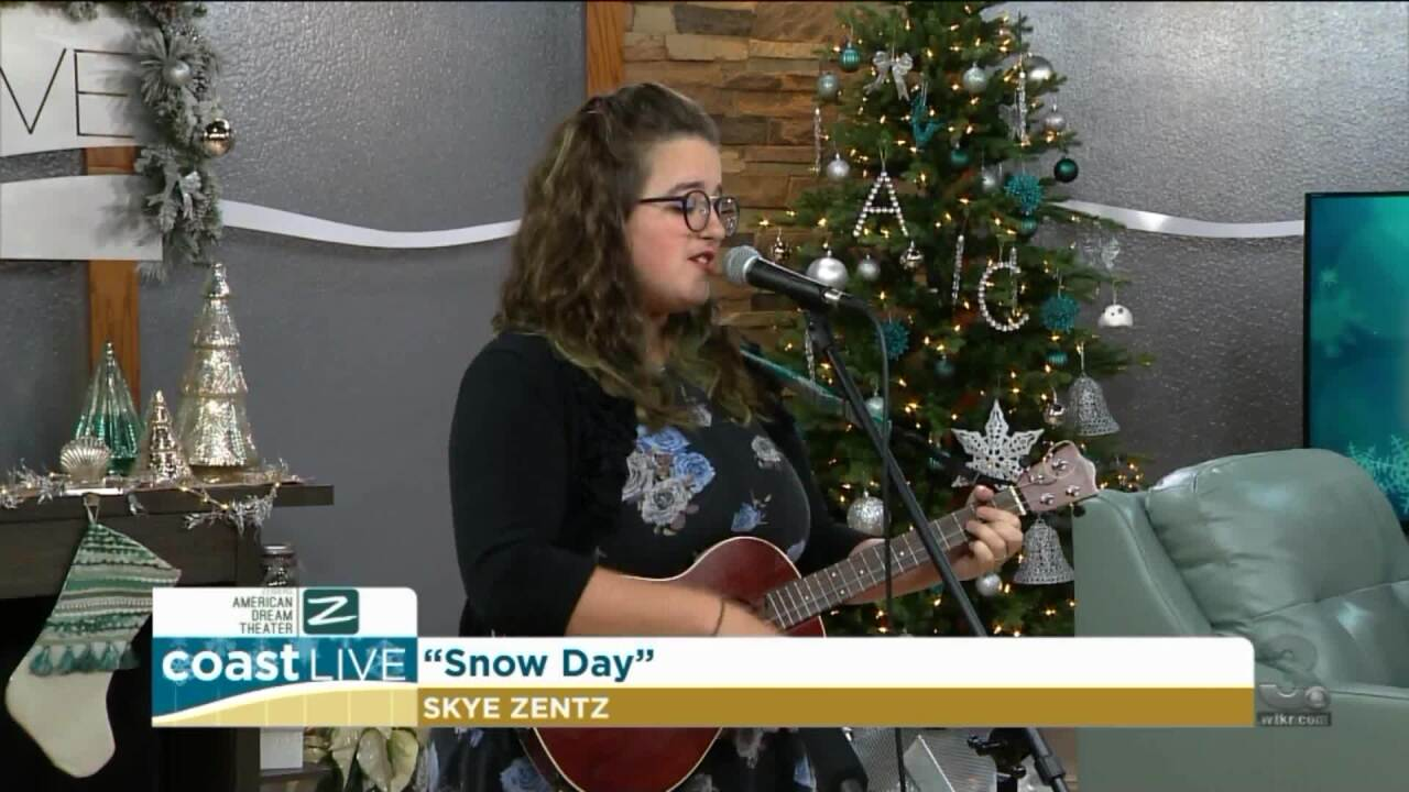 "Local singer Skye Zents asks for a ""Snow Day"" on Coast Live"