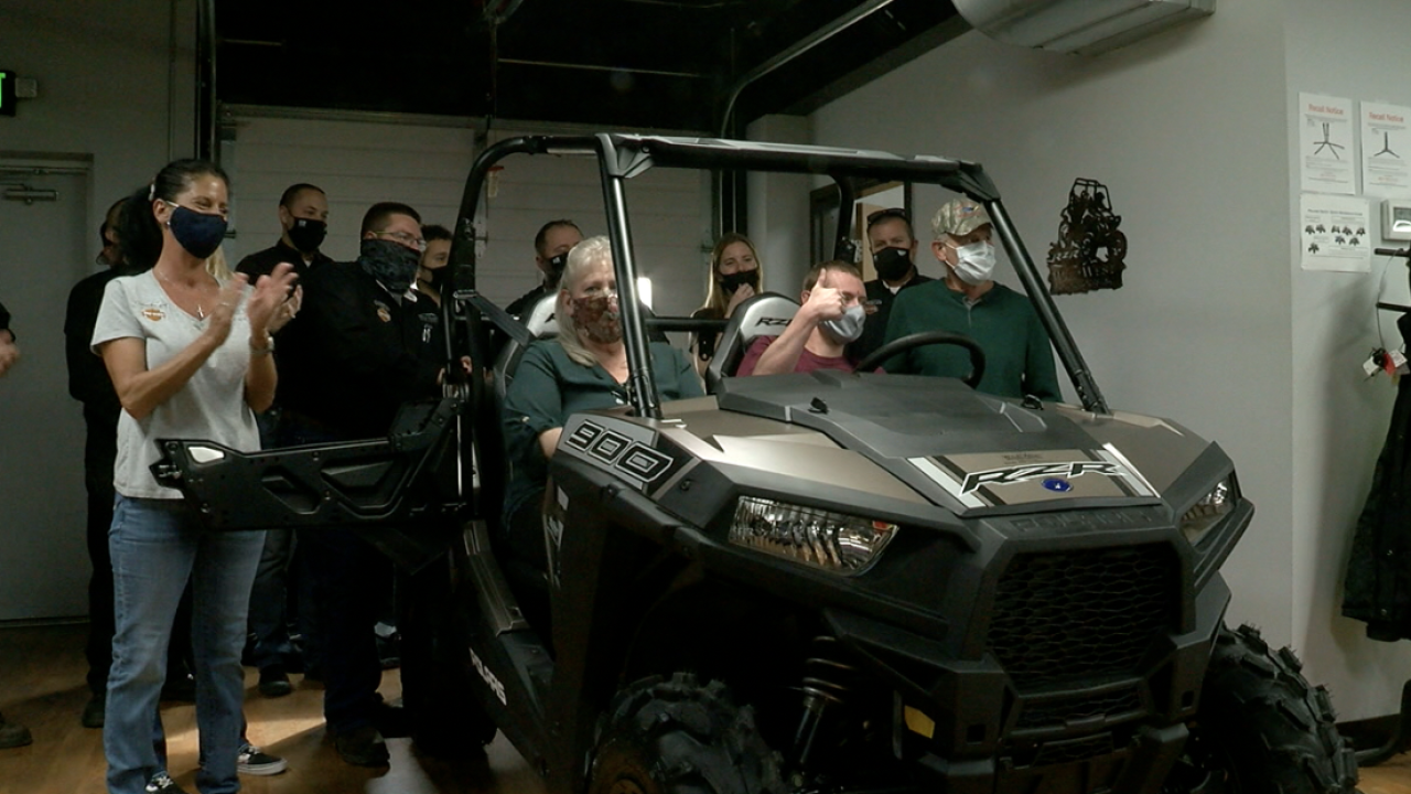 Cancer survivor surprised with ATV in Greeley.png
