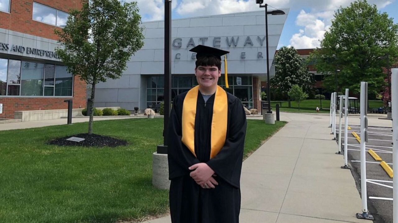 15-year-old in Ohio graduating from both high school and college this week