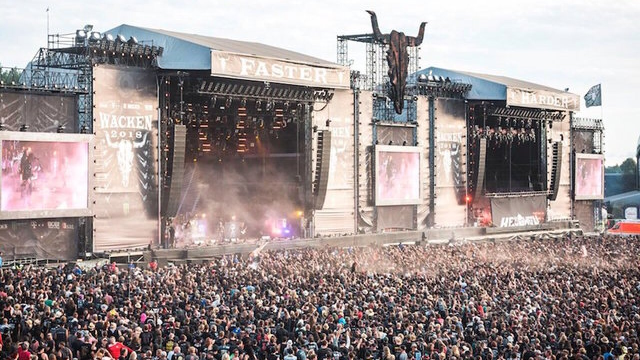Two German retirees fled their care home to attend a heavy metal festival