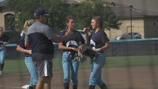 AES wins first softball playoff game, STM shuts out Rayne on Senior Day