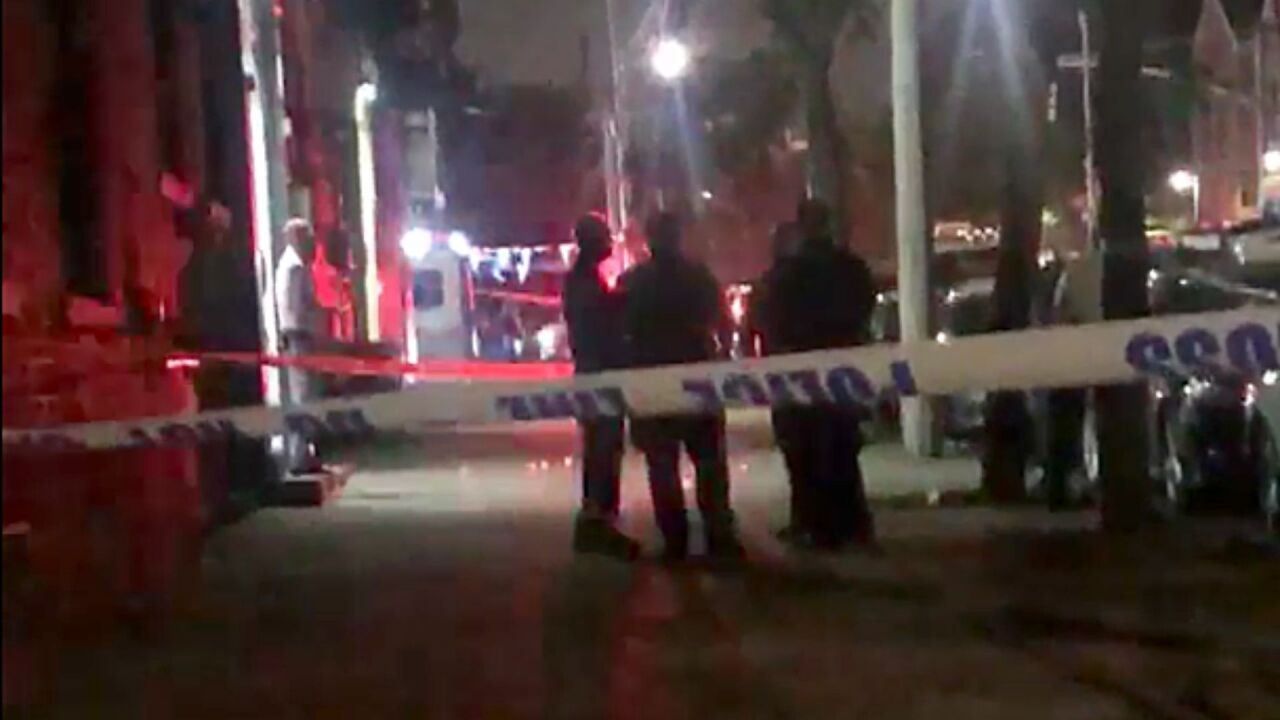 Scene of deadly shooting in Brownsville, Brooklyn