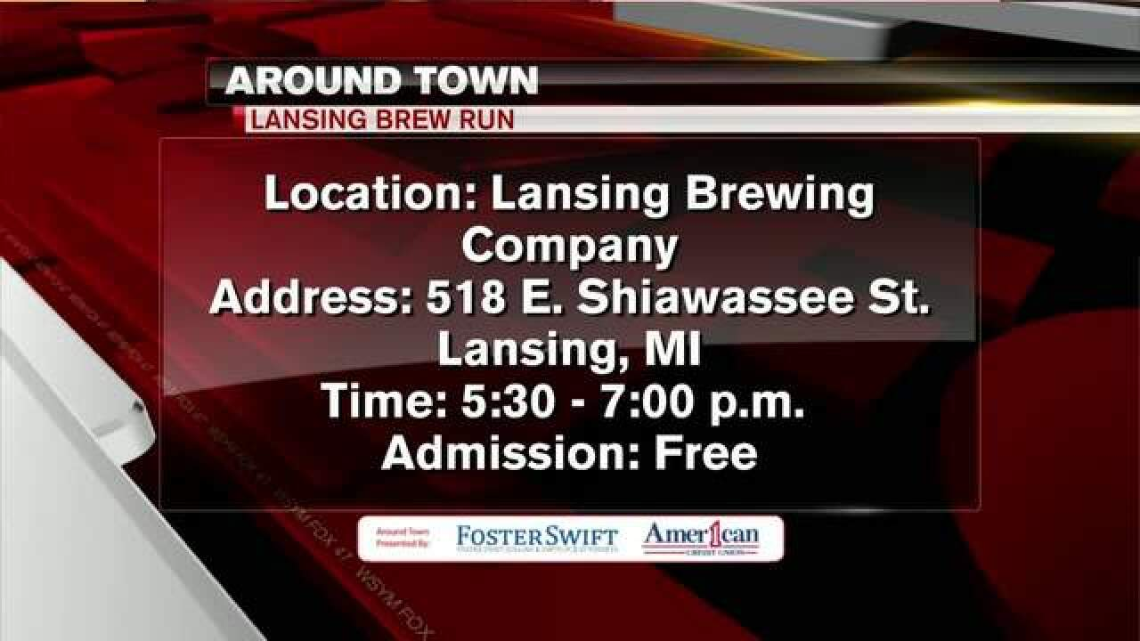 Around Town 1/20/18: Lansing Brew Run