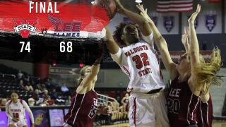 Lady Blazers Upset No. 5 Lee 74-68, Behind Four Starters in Double Figures