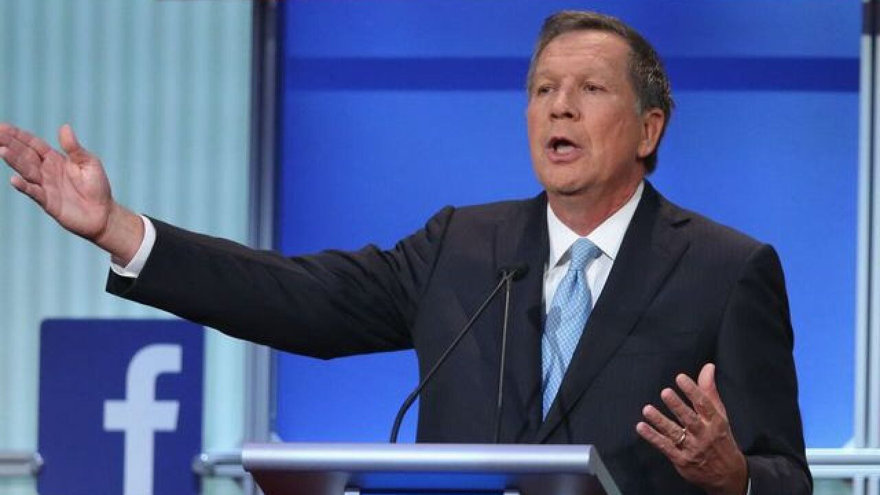 Kasich's priority in Indiana isn't voters