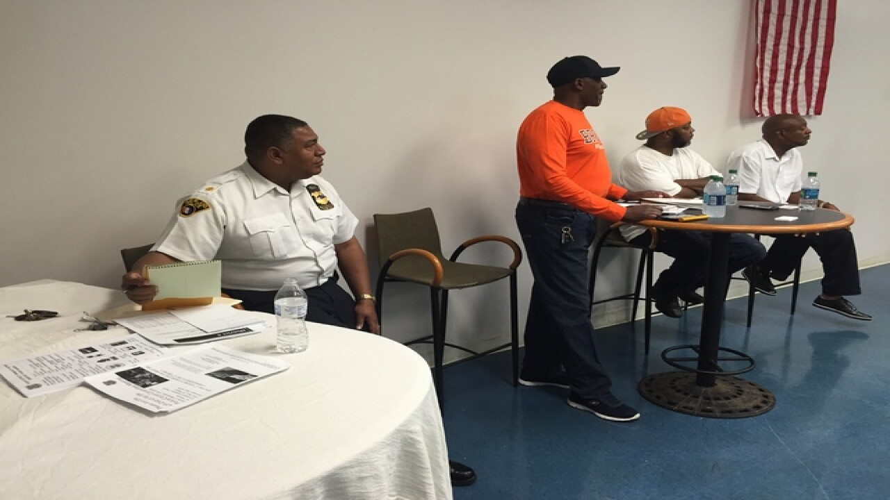 CLE rec centers hold meetings against violence
