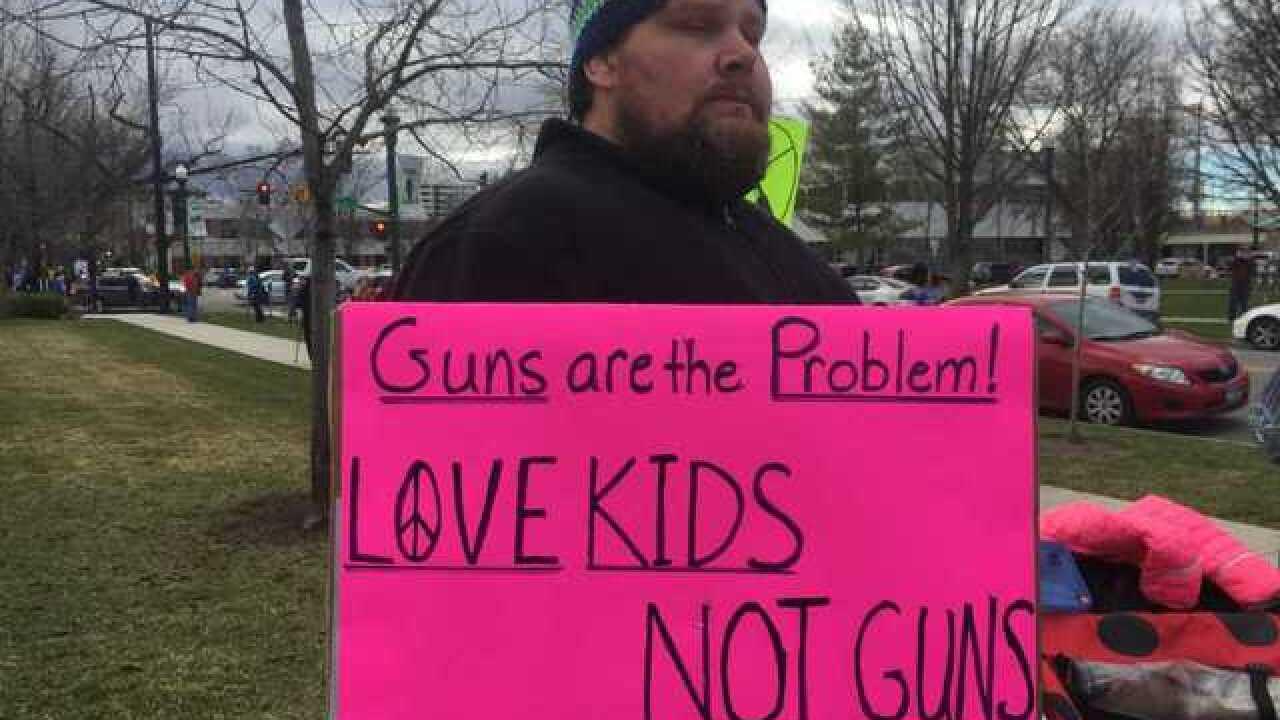 Boise activists protest gun violence at Capitol