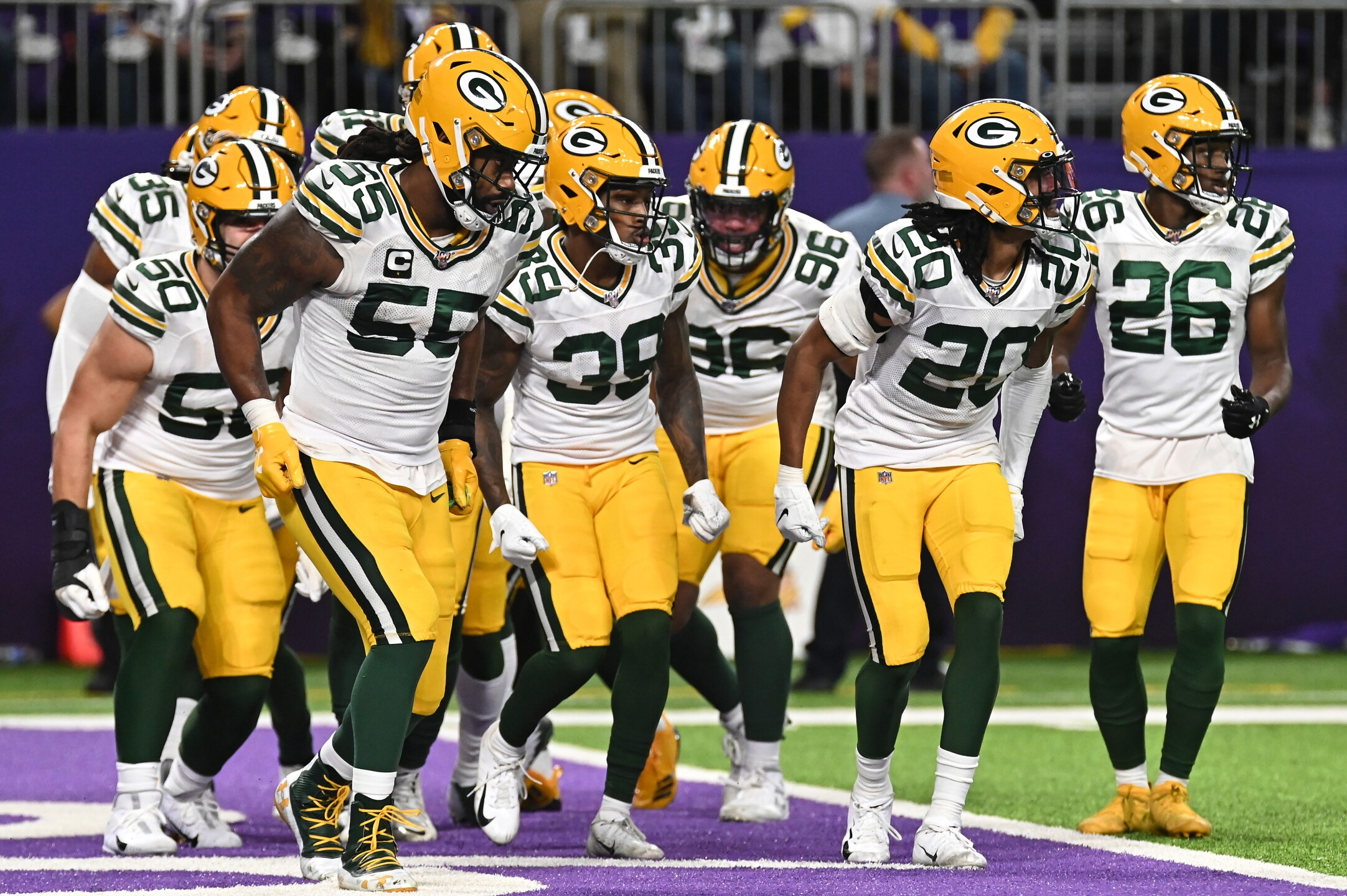 Green Bay Packers v Minnesota Vikings