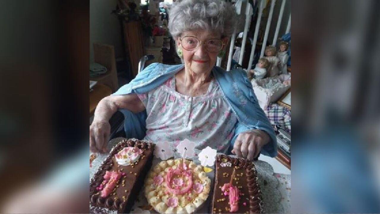 101-year-old Virginia woman eats chocolate everyday
