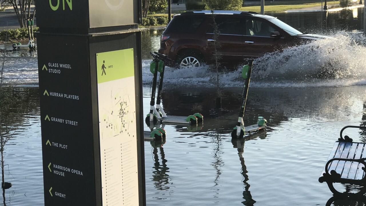 ODU releases survey on flooding in HamptonRoads