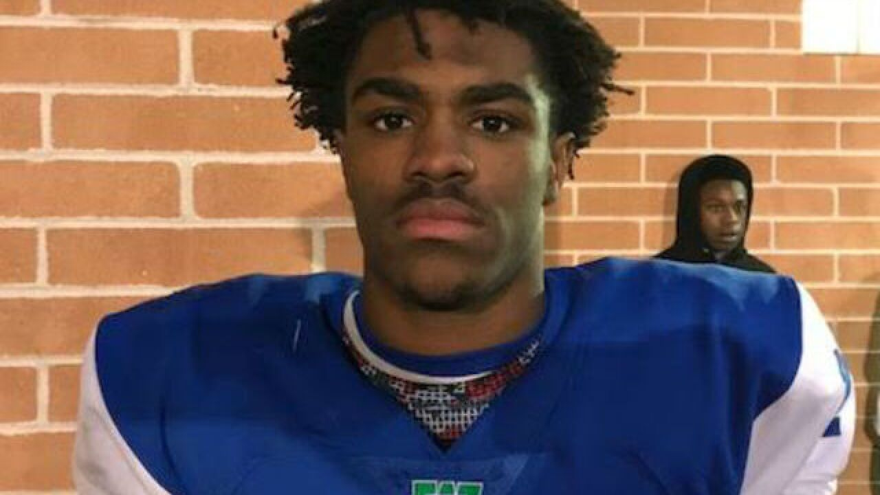 Winton Woods football player Demeer Blankumsee had a special motivation Friday night