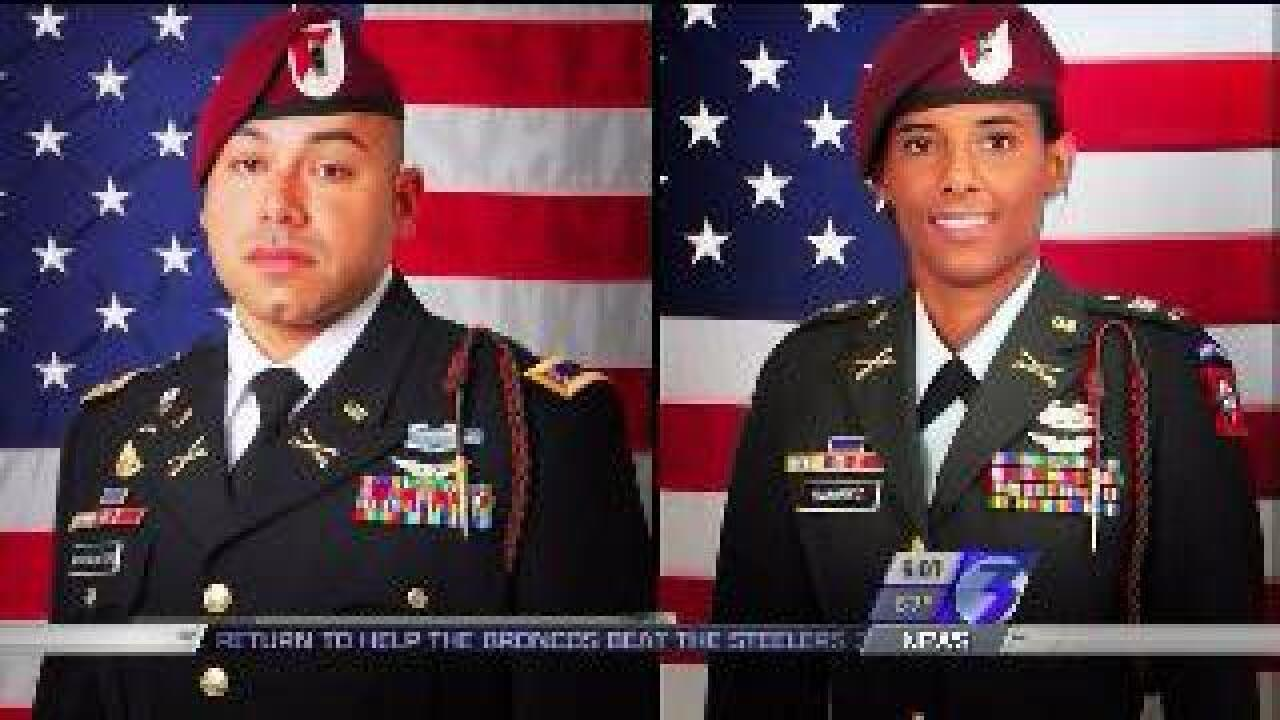 Two Fort Bragg soldiers killed in Afghanistan crash identified