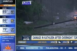 Damage in Kathleen after overnight tornado