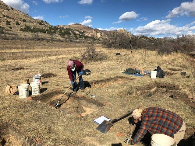 PHOTOS: Items linked to Colorado Springs founder unearthed during archeological dig