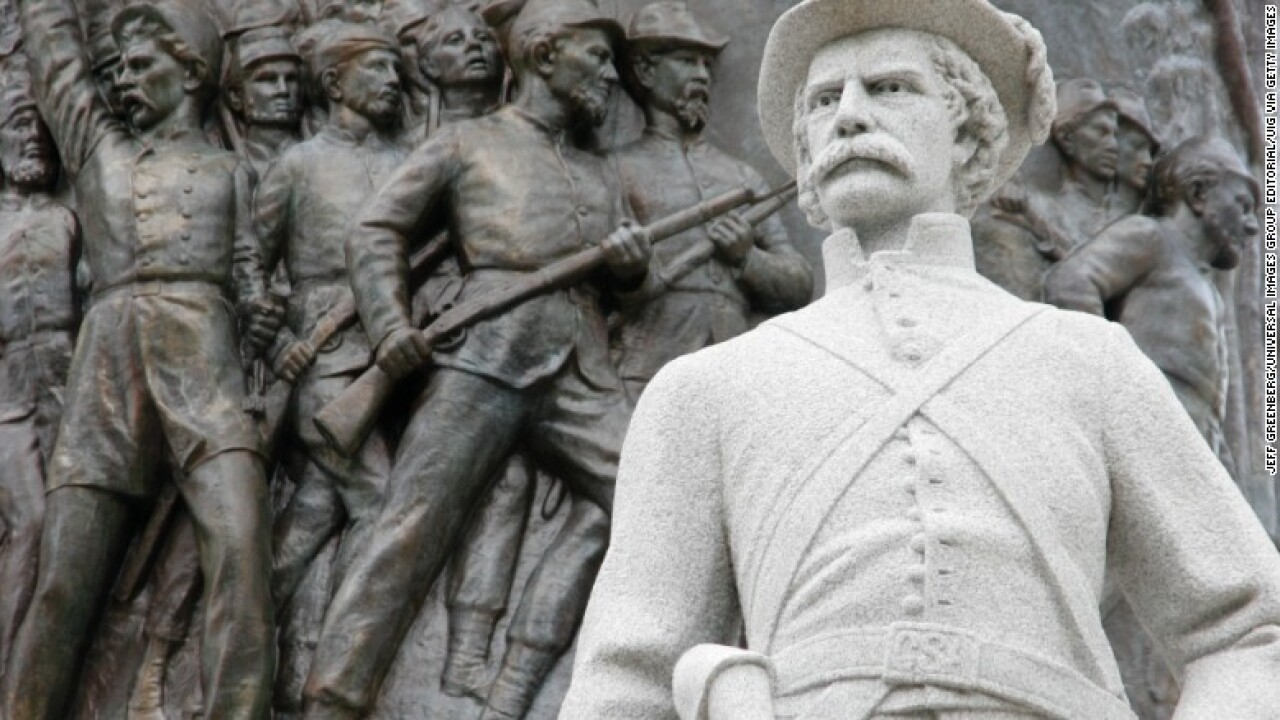Poll finds majority of Americans want Confederate statues to remain
