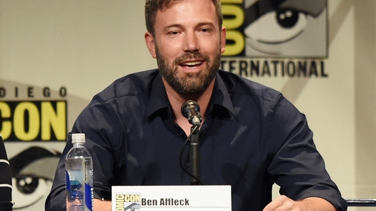 Ben Affleck says he's not out as Batman, despite rumors
