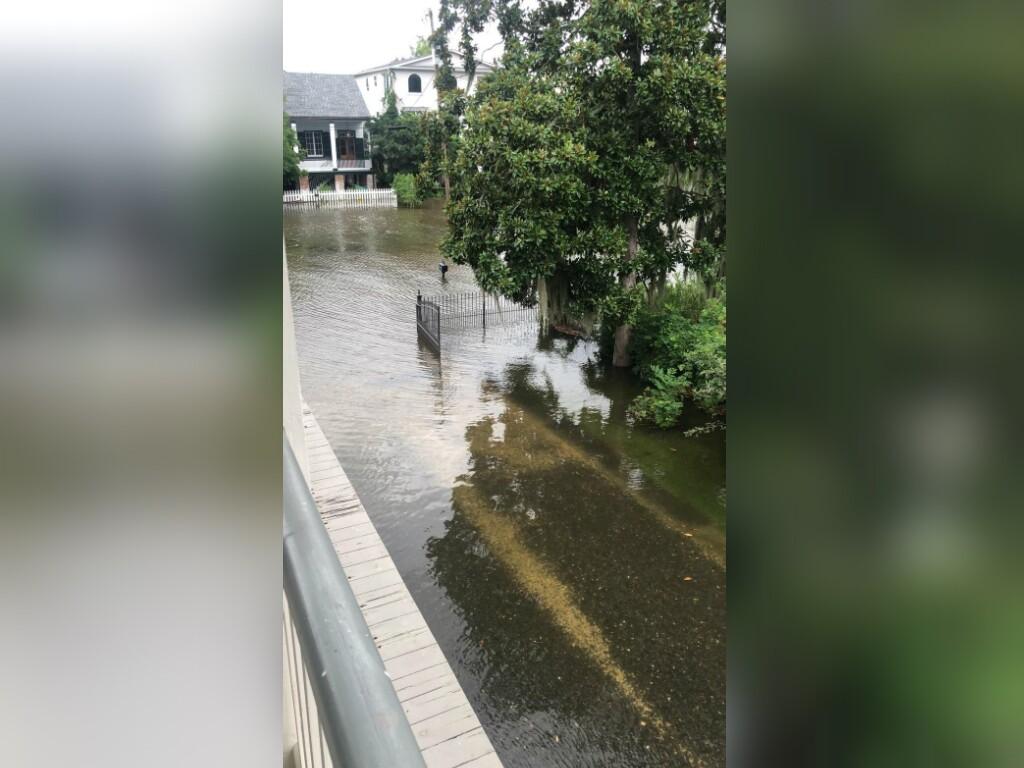 Lake Pontchartrain Barry flooding 071319