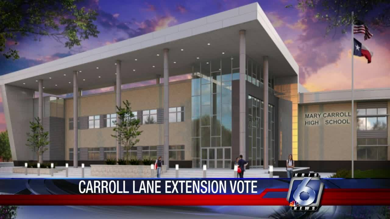 Carroll Lane extension vote