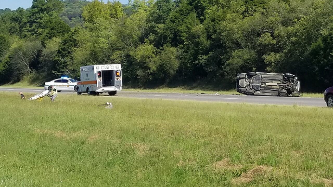 Crash Closes I-24 West In Rutherford County