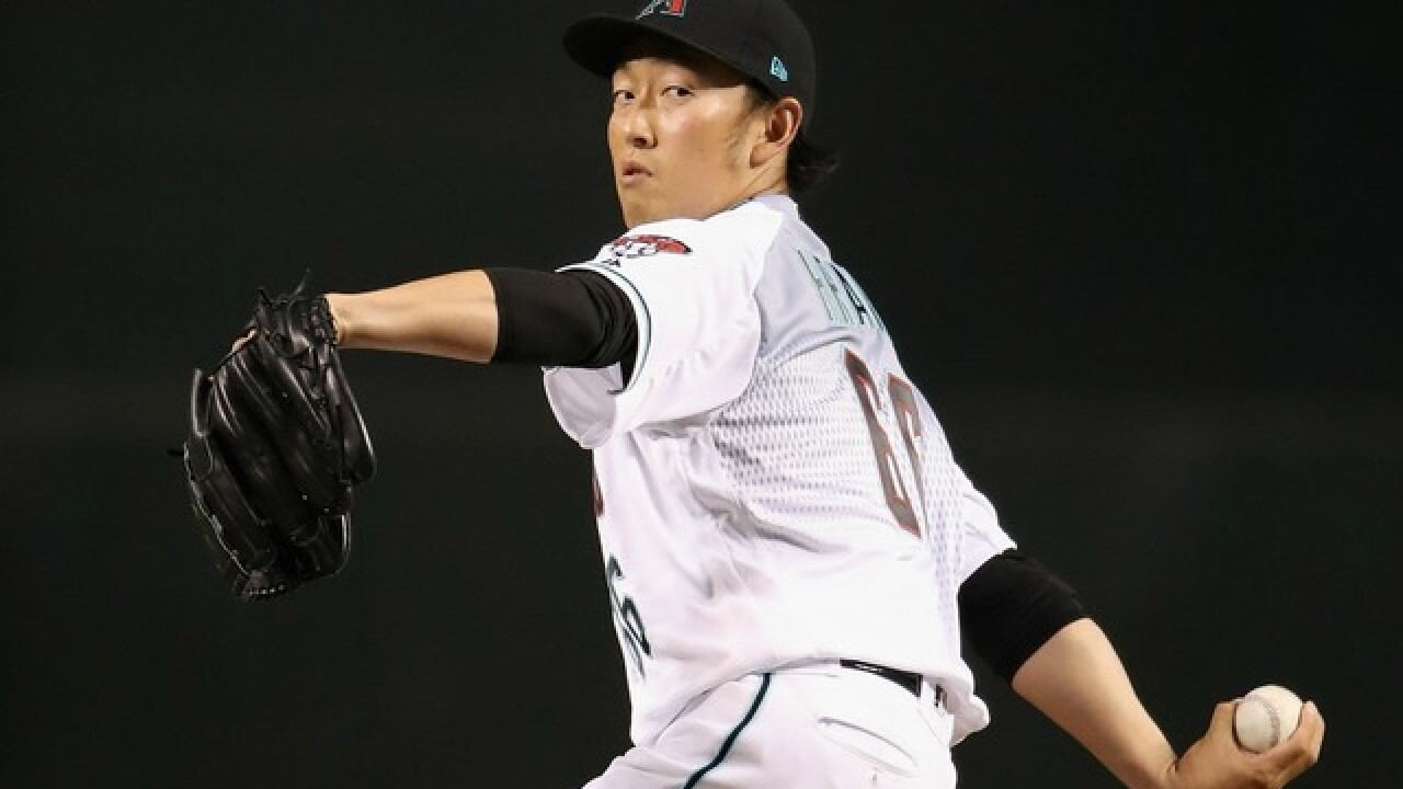 Diamondbacks' Hirano sets new team record for consecutive scoreless games