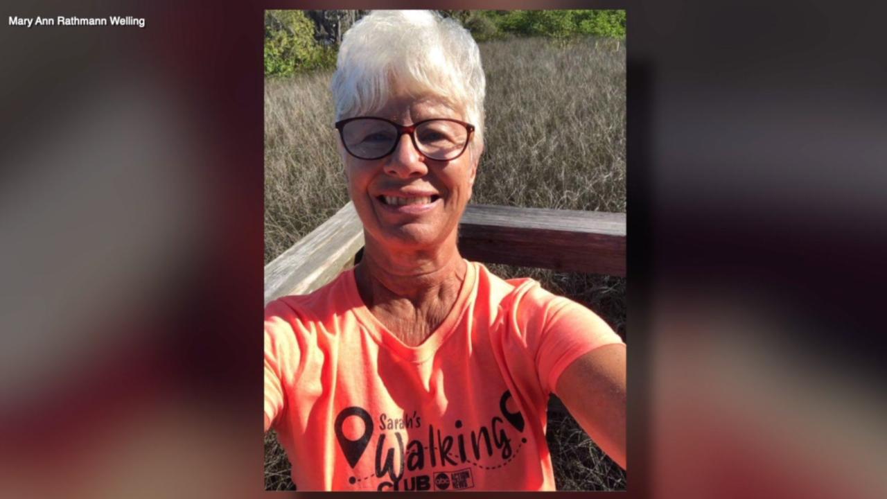Walking Club Walker of the Week: Mary Ann