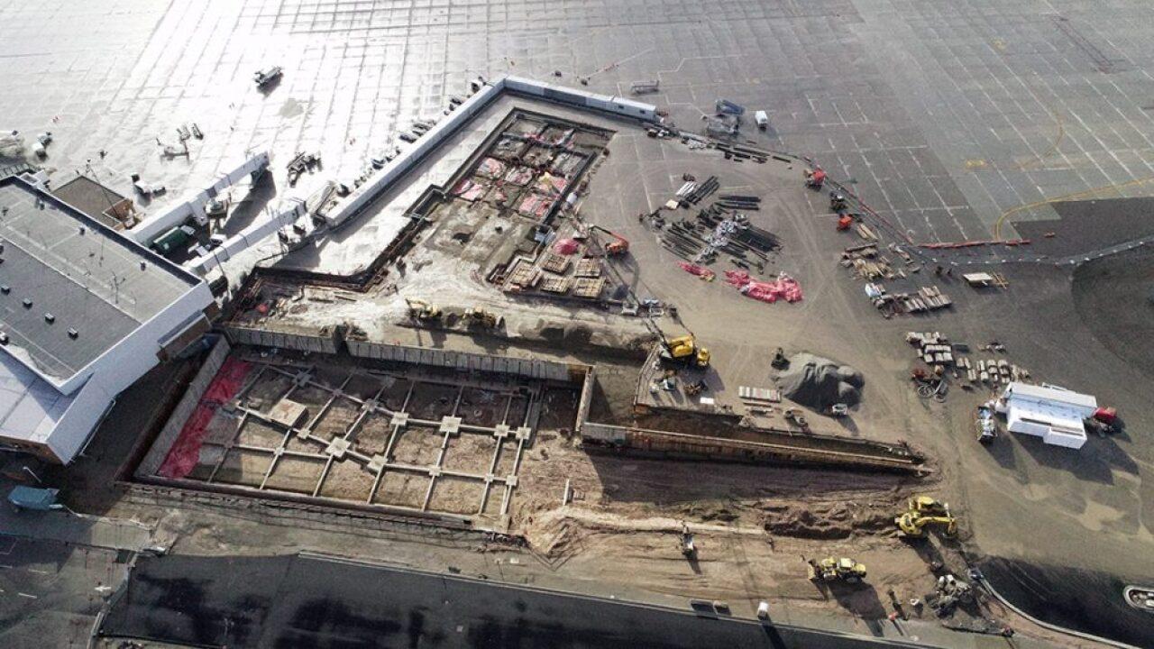 Missoula International Airport Terminal Construction