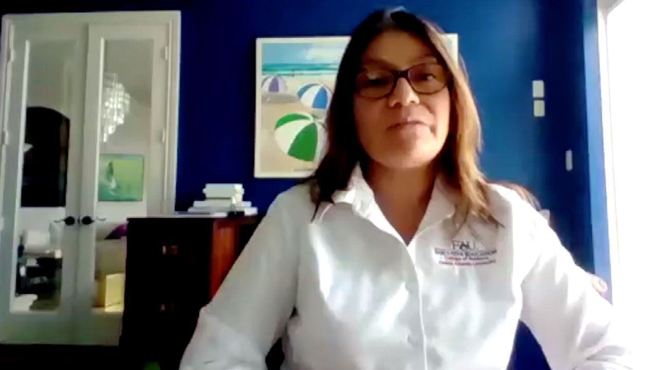 Sofia Johan, an associate professor of finance at Florida Atlantic University