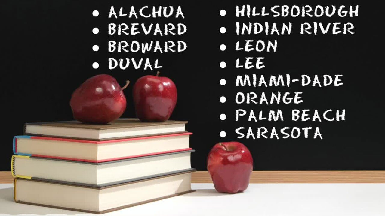 Florida school districts with mask mandates