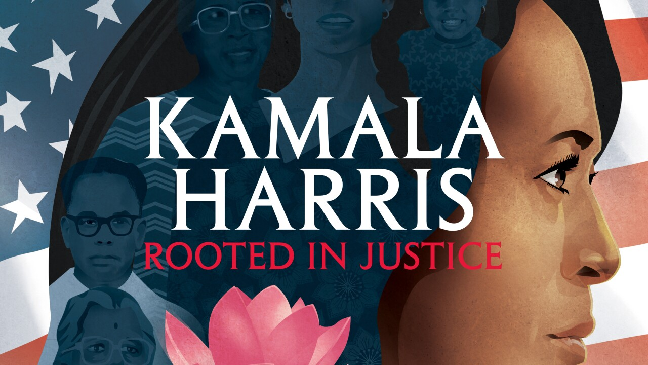 Picture book on Kamala Harris coming Aug. 25
