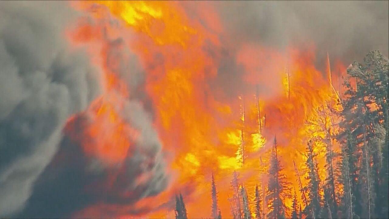 Colorado wildfire 2020