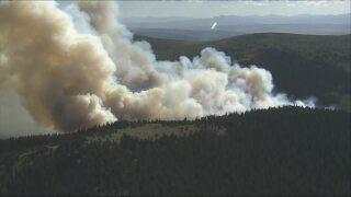 Shawnee Peak Fire 1