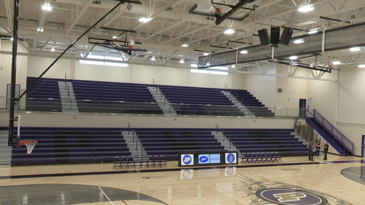 Polson's new gymnasium