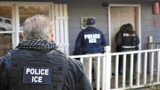 Girl films ICE arrest her dad en route to school