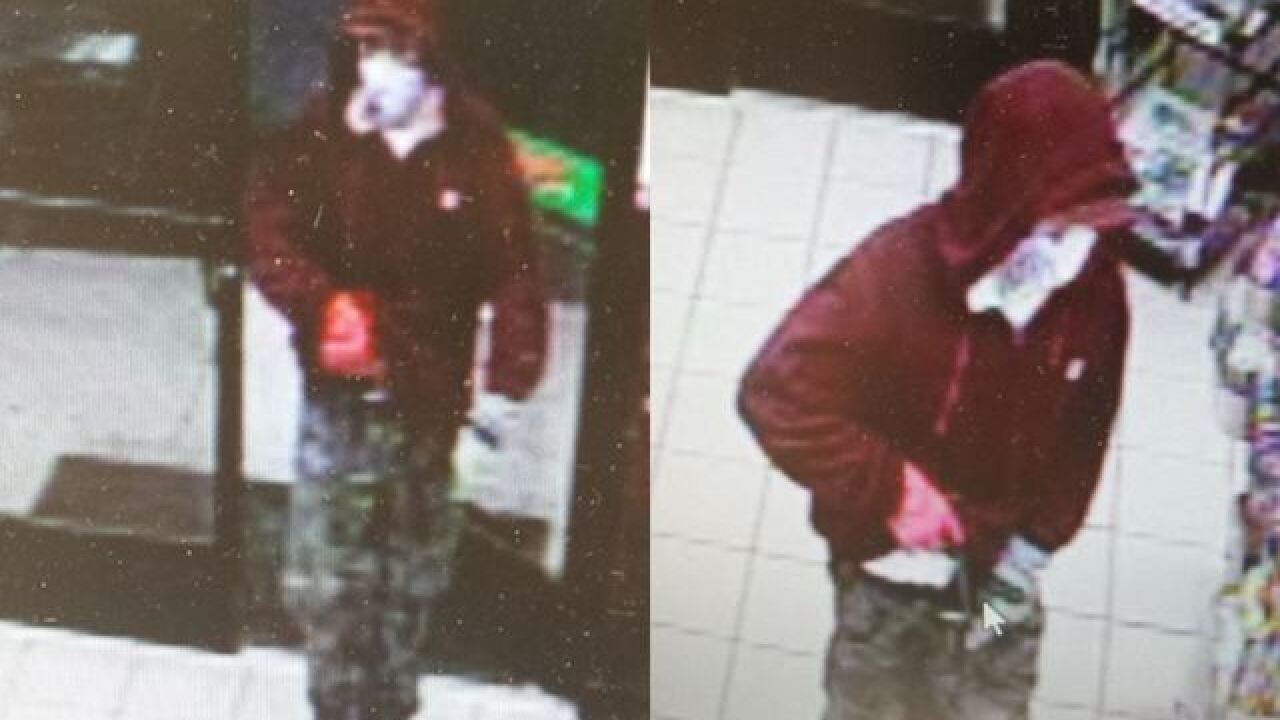 IFPD Seeks help identify armed robbery suspect