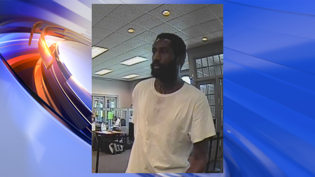 Police searching for man who robbed Hampton bank