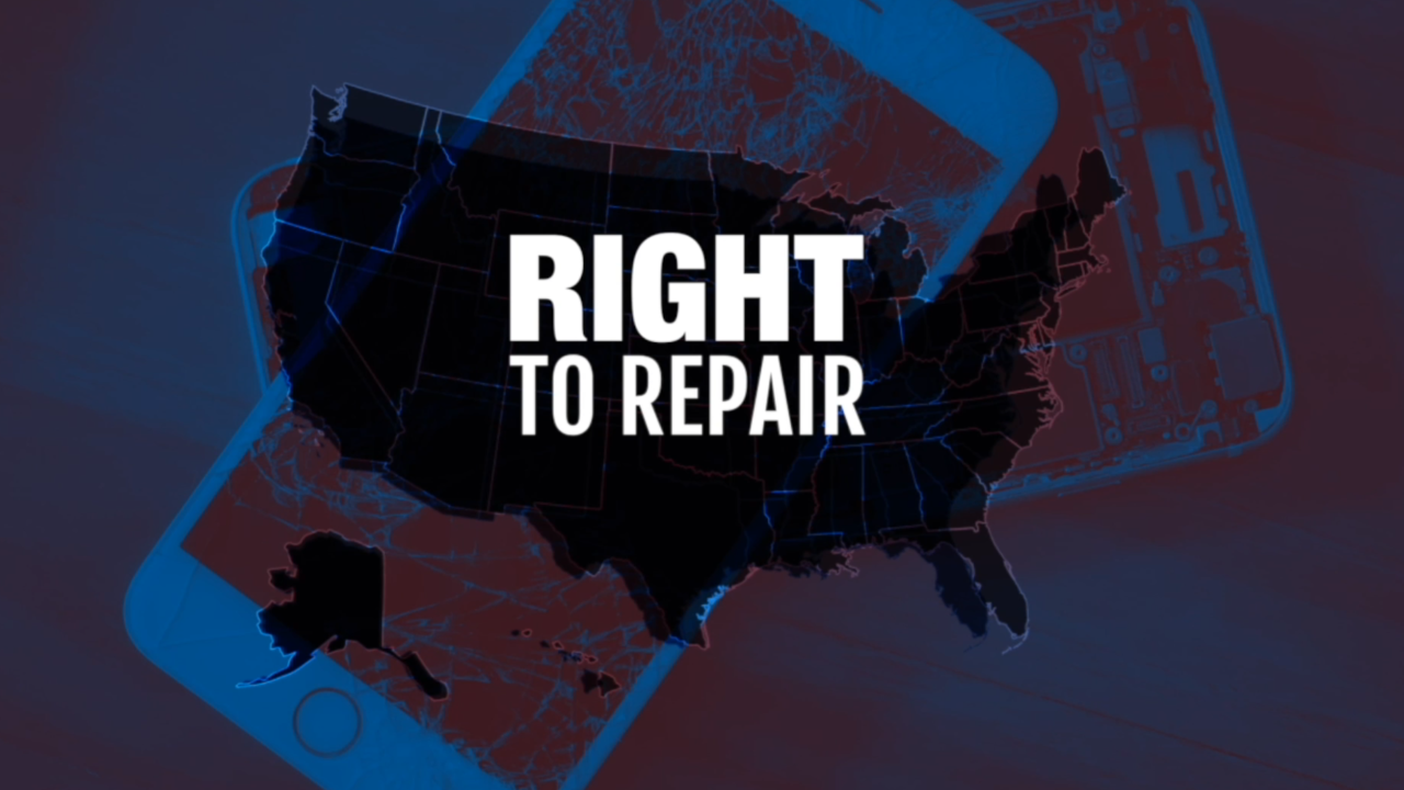 'Right to Repair' law aims to cut electronic repair costs