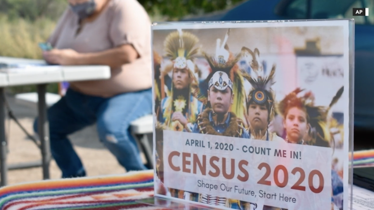 Native American census count