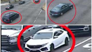 Mt Airy homicide cars