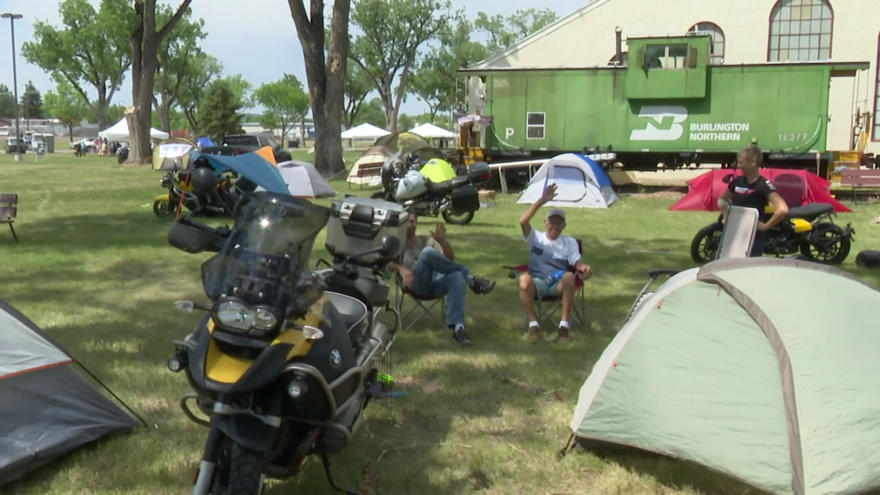 Thousands of bikers from all across the country traveled to the Great Falls area for the event.