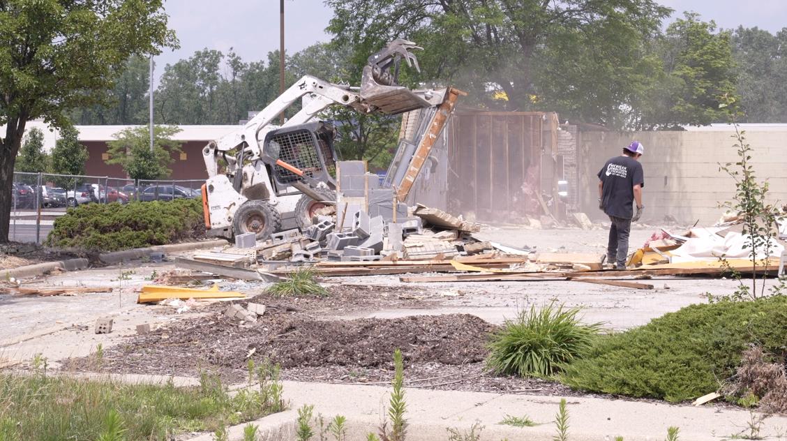 Meridian Twp. Burger King demolition