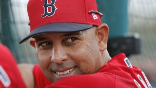 AP source: Red Sox to rehire Cora, manager from 2018 title