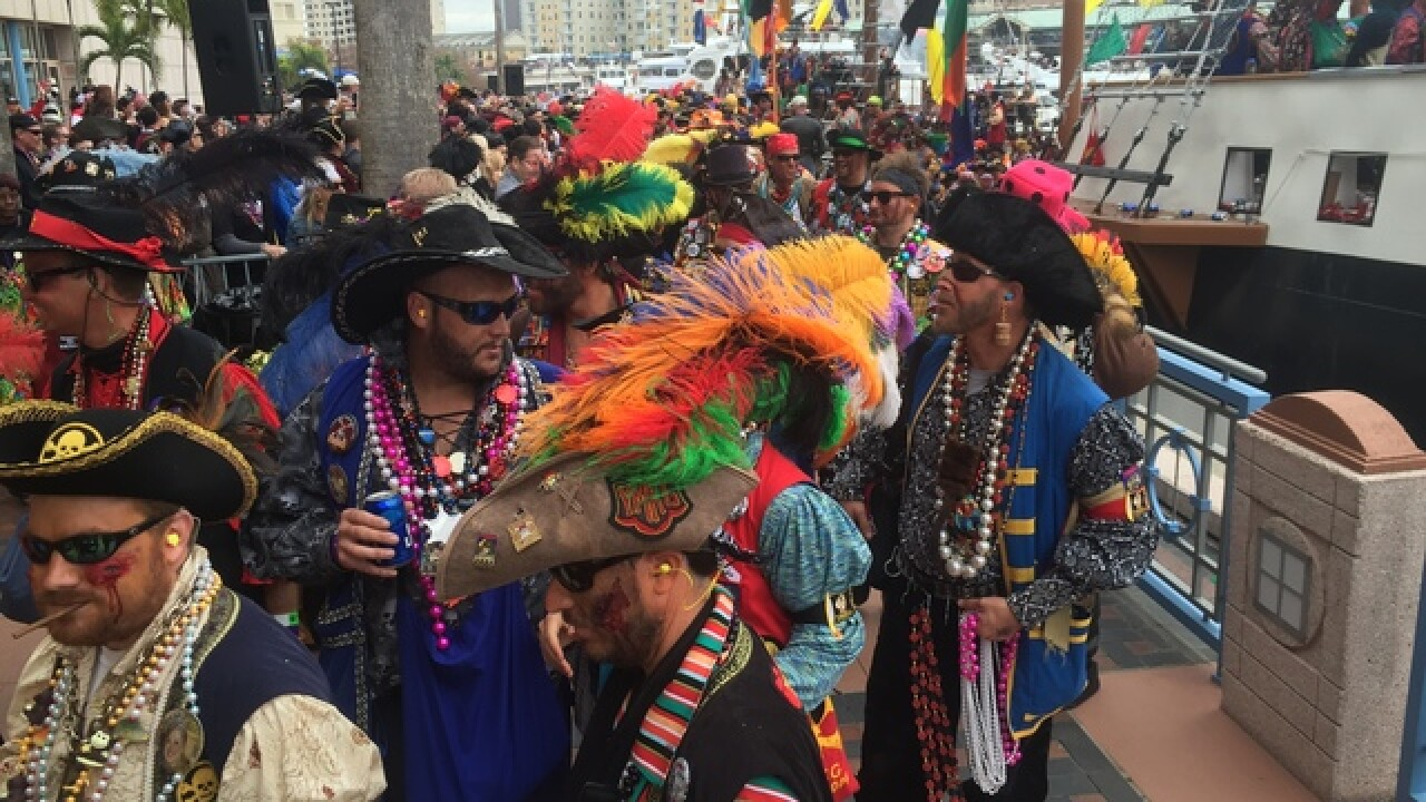Help cleanup Tampa after Gasparilla