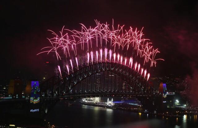 Sydney, Australia celebrates New Year's Eve