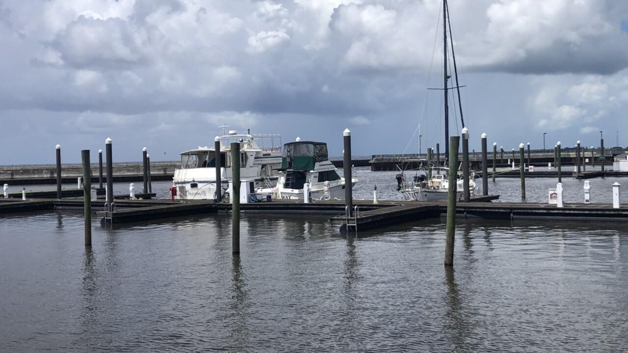 Boats are docked at the Pahokee Marina on July 15, 2021.jpg