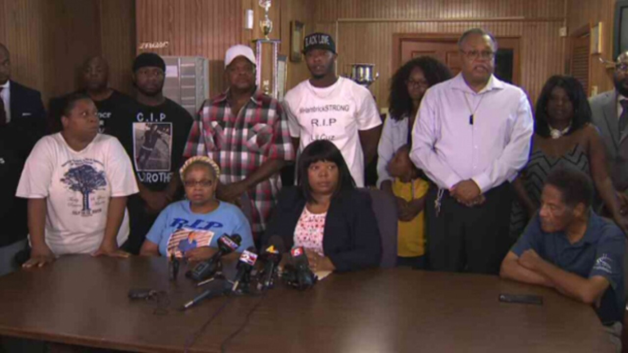 'I Just Want Justice For My Son': Family Calls For Officer To Be Charged With Murder