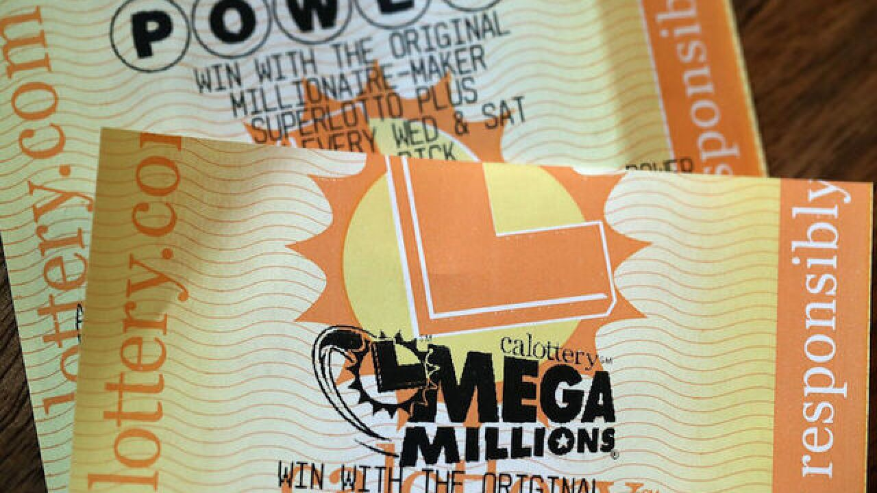 The Mega Millions and Powerball jackpots are huge today