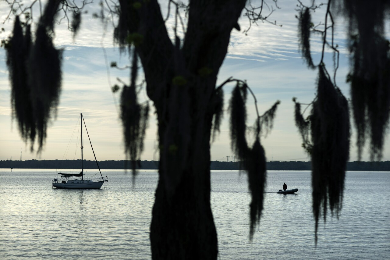 St. Johns River in Palatka, where Warren Williams longed to fish