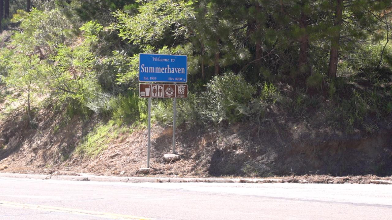 Summerhaven Sign