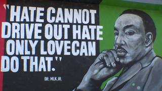 MLK Jr. mural Oak Park