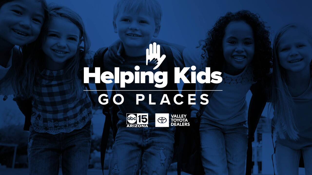 Helping Kids Go Places